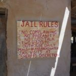 Goldfield Ghost Town Jail Rurles