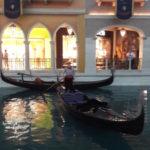 Umělý kanál v hotelu The Venetian