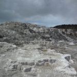 Mammoth Hots Springs v Yellowstonu