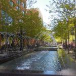 Fontána v centru města