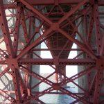 Golden Gate Bridge zespodu