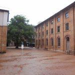 Původní vězeňské domky