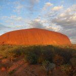 Východ slunce u Uluru